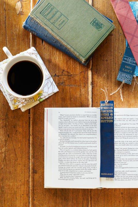 Buch verwenden-Buchzeichen selber machen