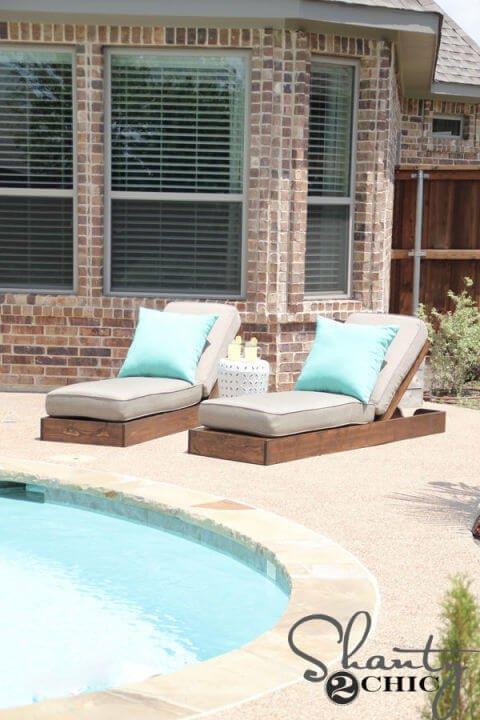 Sonnenliege - DIY Garten-Ideen
