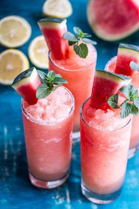 Abkühlendes Sommergetränk selber machen mit Melonen