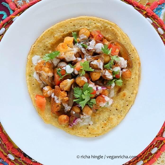 Tortillas mit Gemüse - leckere Snacks