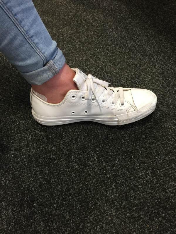 Converse Schuhe Hack - Ösen nutzen