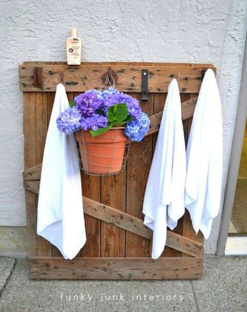 Holzpalette als Gartendeko nutzen - DIY Möbel-Ideen