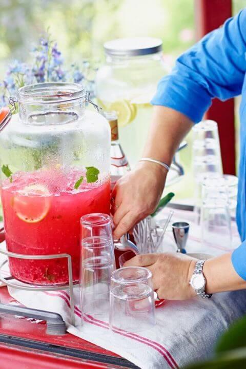 leckere Rezeptideen für den Sommer - fruchtige Limo