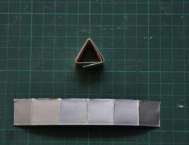 Dreieck formen