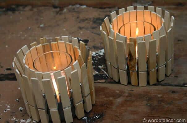 Kerzenglas aus einer Thunfischdose basteln
