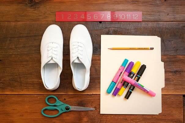 DIY modische Schuhe selber machen
