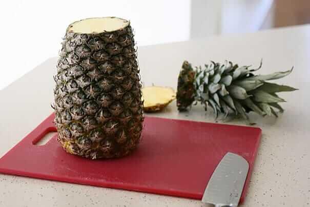 kreative Wohndeko aus einer Ananas