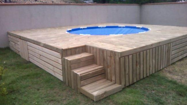 Garten-Ideen für den Sommer - DIY Pool