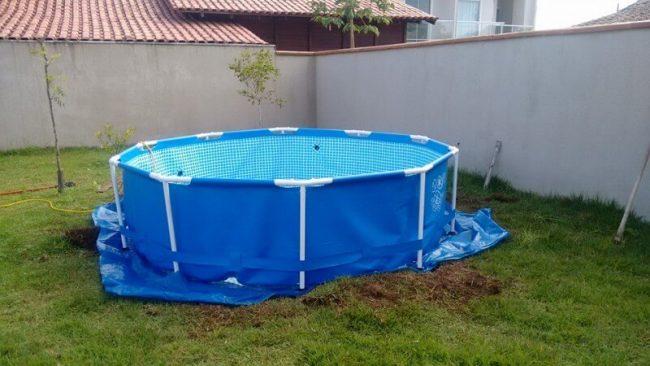 DIY Pool im Garten gestalten