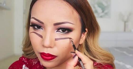 Dieses Halloween-Make-up macht dich zum absoluten Blickfang!