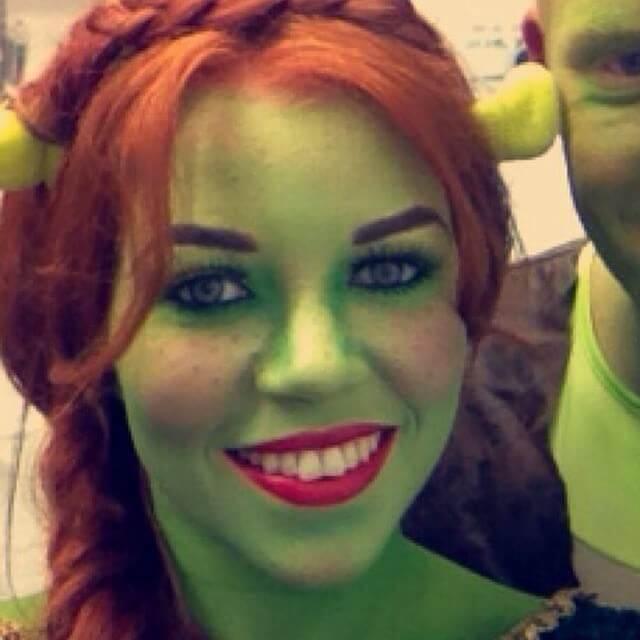 Fiona Shrek DIY Kostümideen