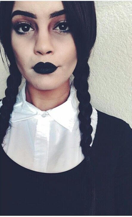 Wednesday Adams Make up selber machen