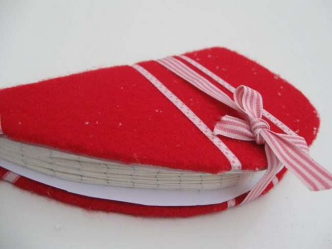 Kalender Herz DIY Geschenk romantisch, DIY last minute Geschenkideen