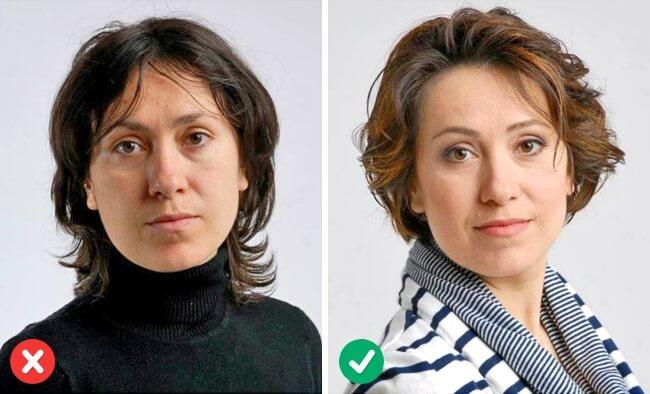 Haarfrisuren für kurze Haaren-Strähnchen