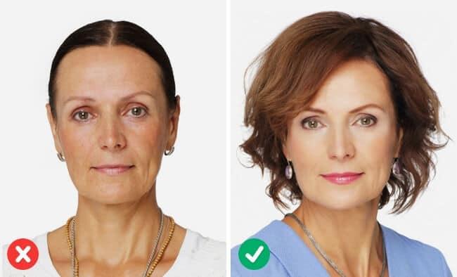 Haarfrisuren für Frauen, Mehr Volumen im Haar