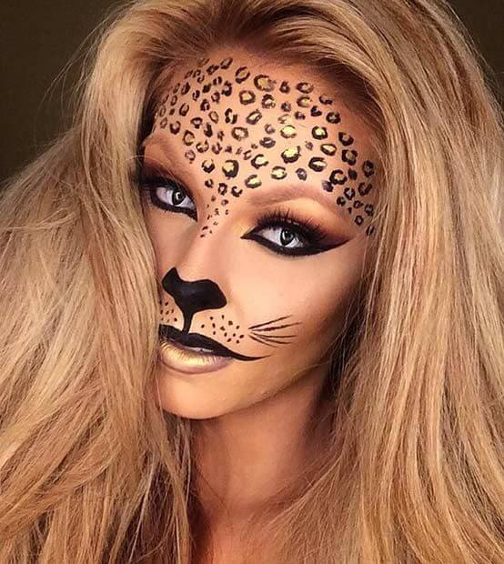 Leo Makeup selber machen