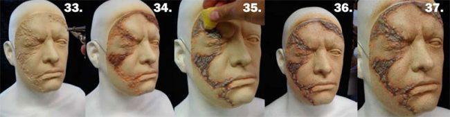 Schritt 7. - Latexmaske selber basteln