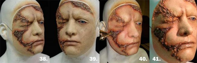 DIY Bastelideen zu Halloween - Latexmaske