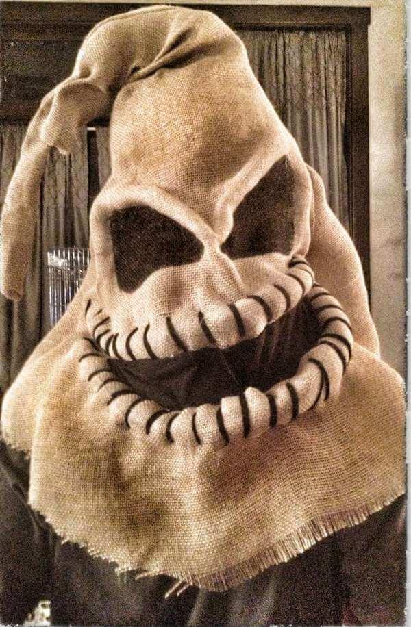 lustiges Halloween Kostüm aus Sackleinen basteln