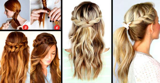 Beginner Easy Updos For Long Hair Step By Step