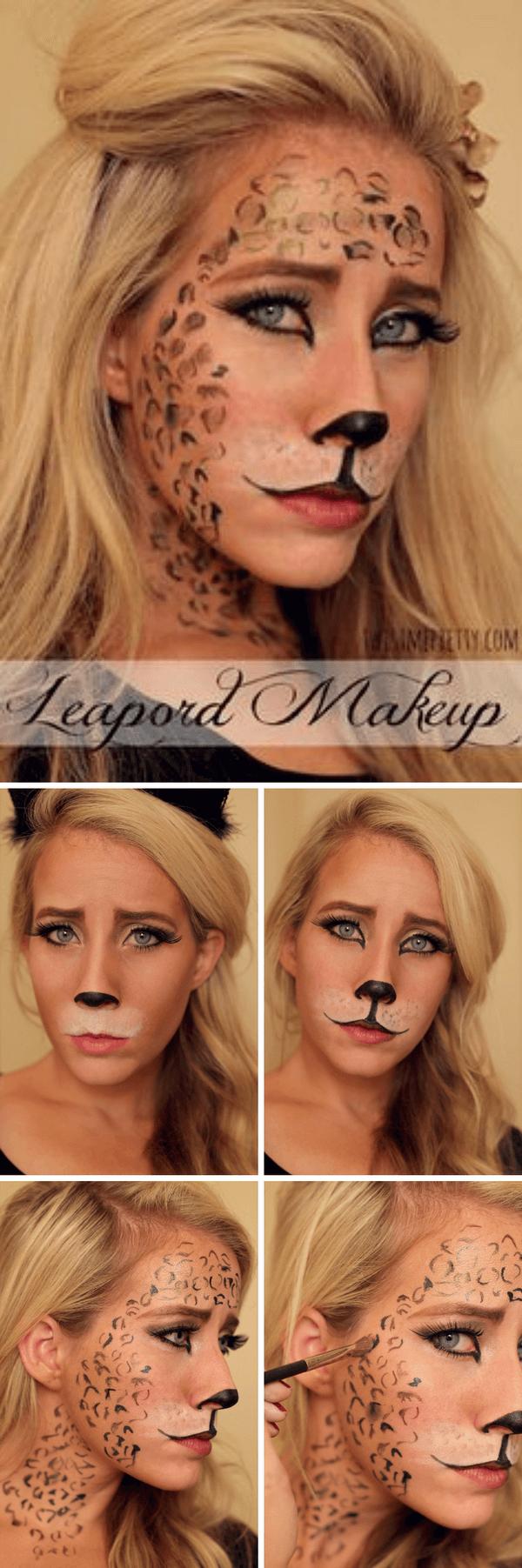 Leo Sexy Halloween Makeup-Ideen