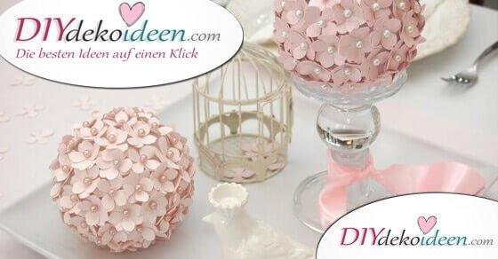 Hochzeitsdeko – DIY Tischdeko Ideen, die deine Hochzeit perfekt machen
