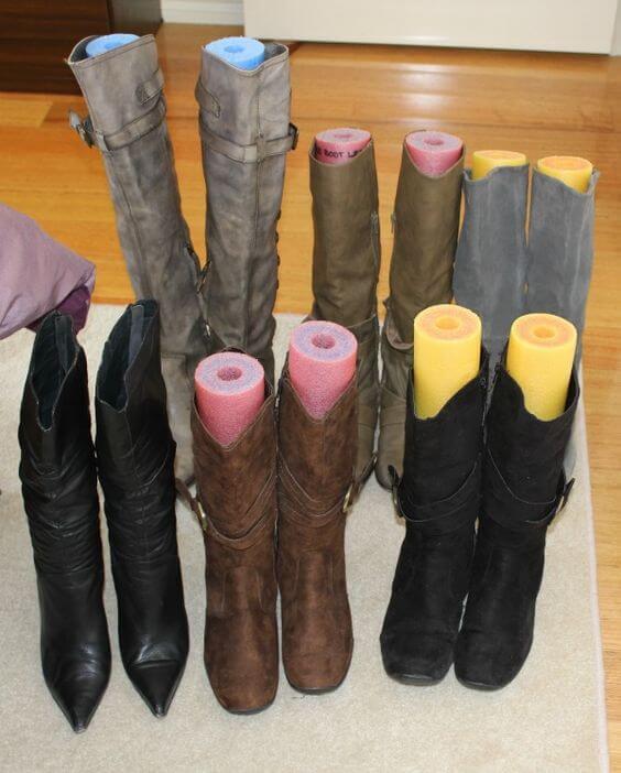 Deko Ideen und DIY Wohnaccessoires zum Selbermachen, damit deine Stiefel nicht einknicken