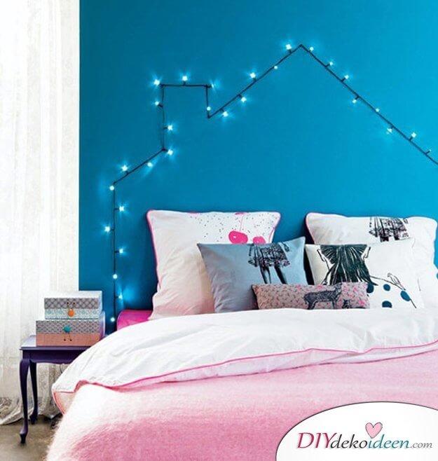 DIY Ideen, Kopfende Mit Beleuchtung