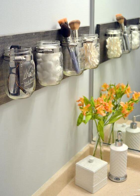 Deko Ideen und DIY Wohnaccessoires zum Selbermachen, Aufbewahrung im Badezimmer