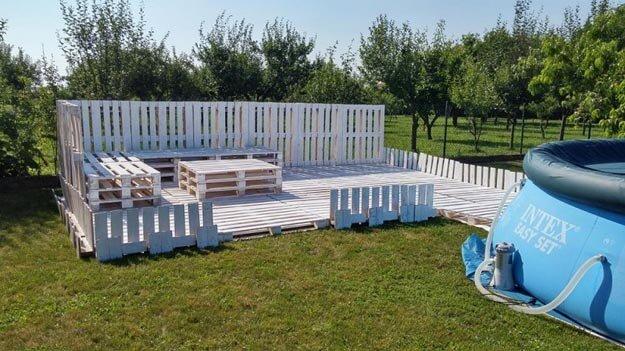 Gartenmöbel selber bauen - DIY Projekte mit Europaletten