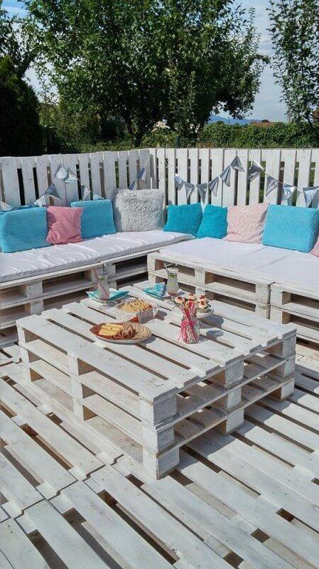 DIY Sitzecke Ideen - Garten selber gestalten
