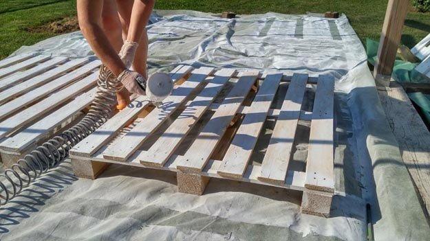 DIY Sitzecke - Garten gestalten