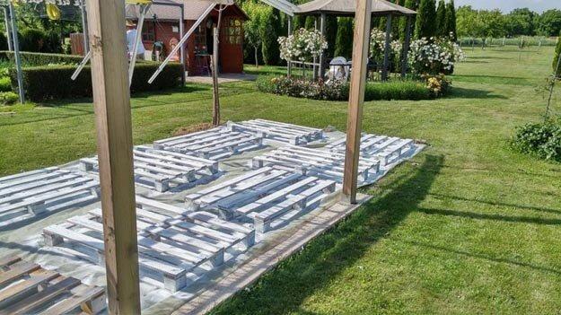 DIY Sitzecke basteln - Garteninspirationen