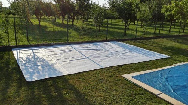 DIY Sommer-Lounge - Unterlage