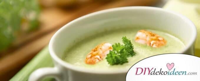 Rezepte für deinen Abnehmplan, Suppen mit wenigen Kalorien, Mit Suppendiät abnehmen