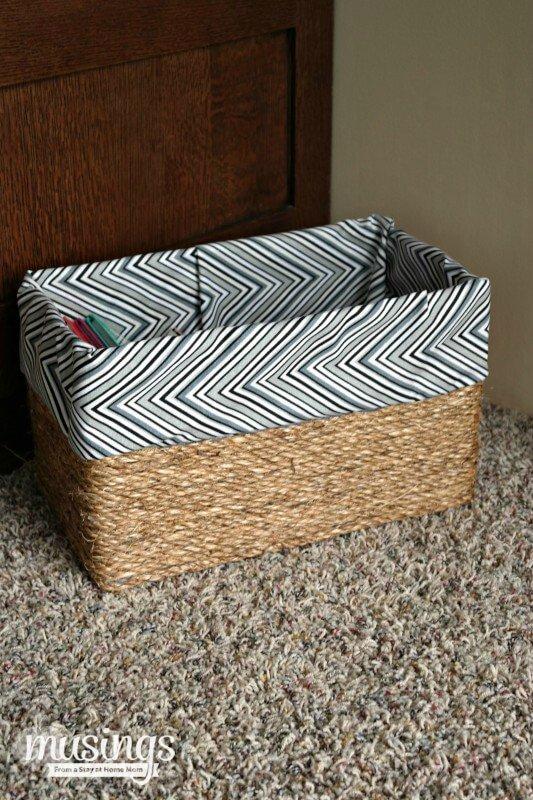 DIY Deko, Wohnaccessoires, DIY Bastelidee aus einer Kiste