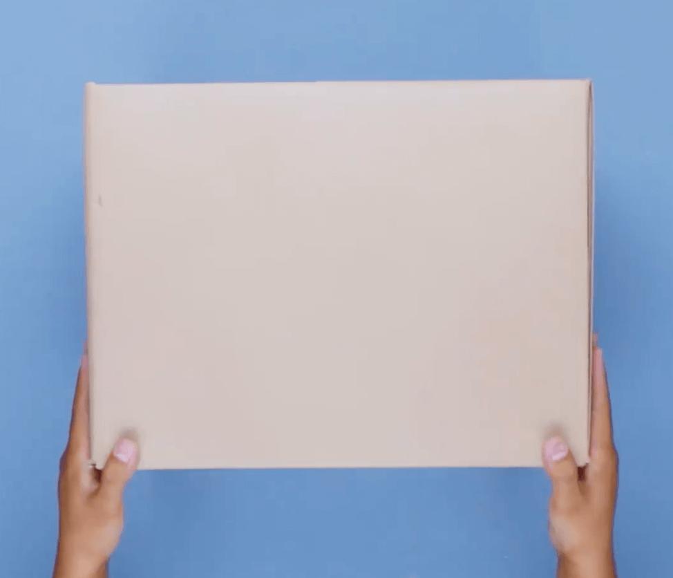 Schritt 2 - DIY Bastelidee aus einer Kiste