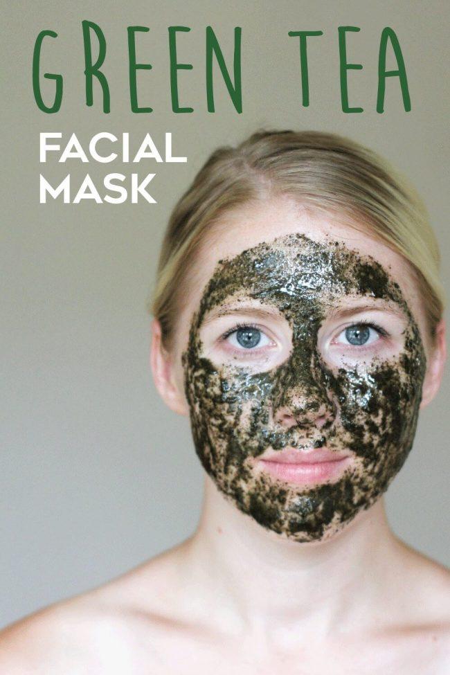 Gesichtsmaske selber machen - Grüner Tee mit Antioxidanten gegen Akne