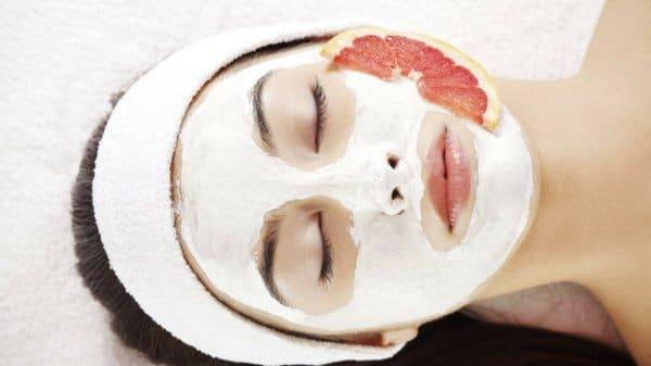 DIY anti-Falten Gesichtsmaske mit Grapefruit
