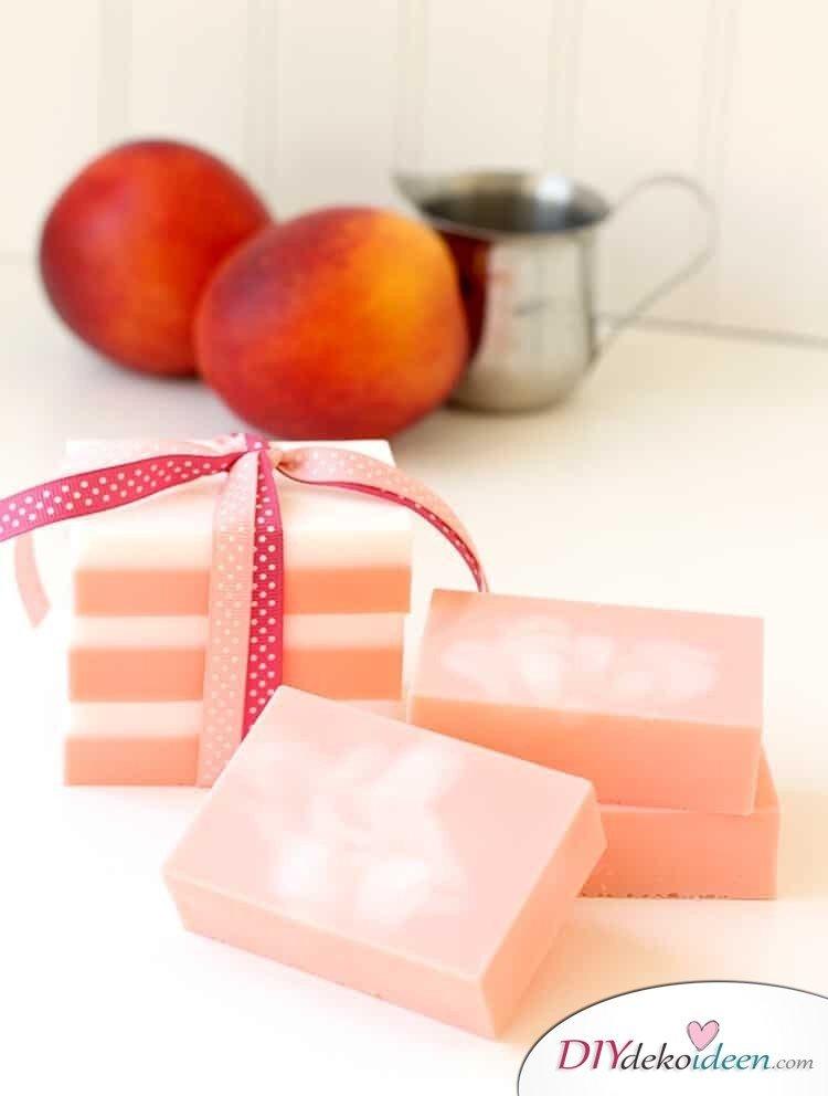 duftende Seifen verschenken - Geschenke selber machen