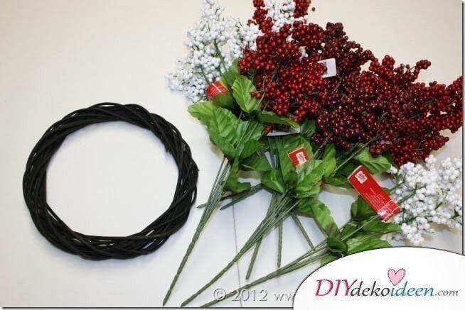 Weihnachtsdeko, wunderschöner Weihnachtskranz, DIY Bastelideen