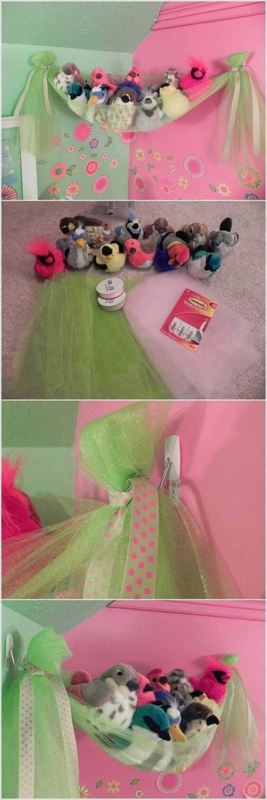Plüschtiere Aufbewahren, Ordnung im Kinderzimmer, Deko Ideen und DIY Wohnaccessoires