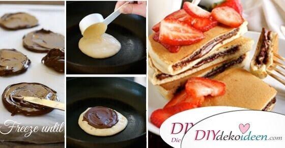DIY einfache Rezepte für Nachspeisen mit Nutella