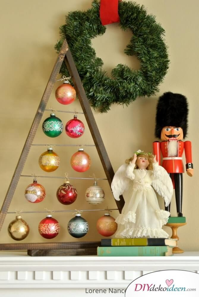 25 ideenreiche diy weihnachtsbaum bastelideen. Black Bedroom Furniture Sets. Home Design Ideas