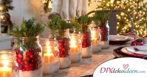 Diy Tischdeko Ideen Zu Weihnachten Diydekoideen Diy Ideen Deko