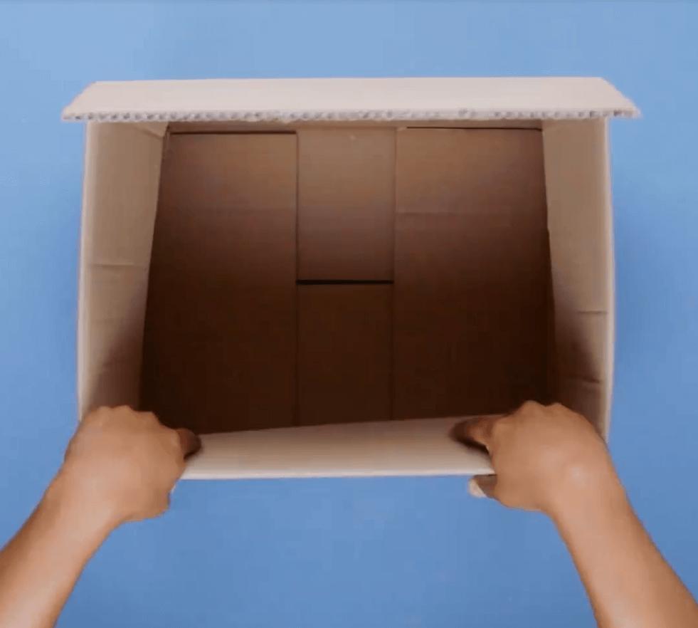 DIY Aufbewahrungsbox - Schritt 1