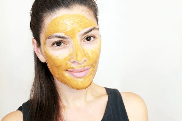 DIY Kurkuma Gesichtsmaske