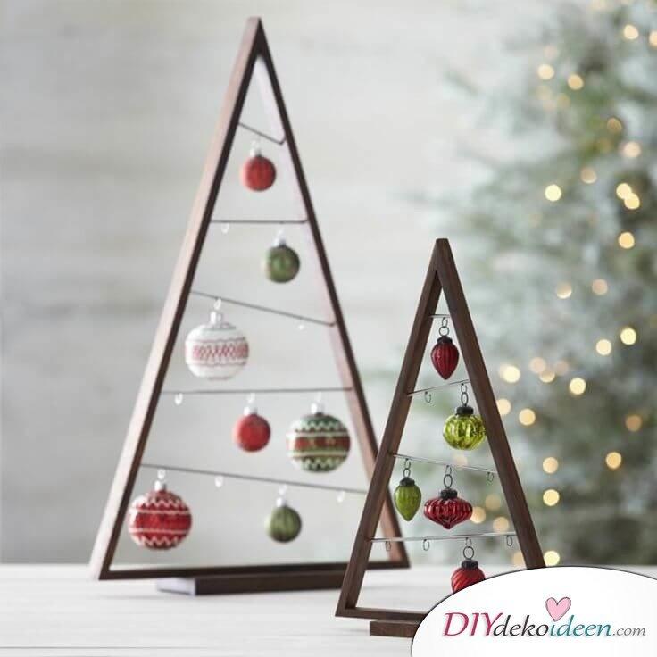 DIY Weihnachtsbaum-Bastelideen, Weihnachtskugel-Deko