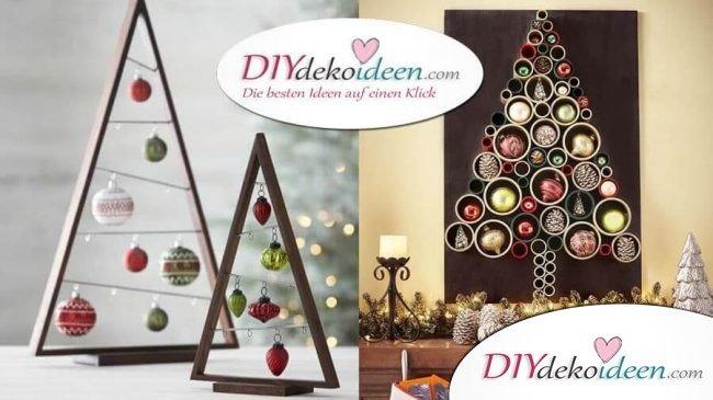 Diy Weihnachtsbaum.25 Ideenreiche Diy Weihnachtsbaum Bastelideen