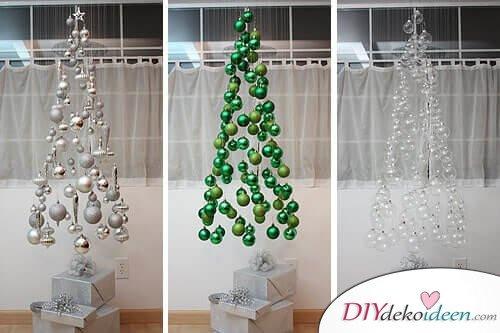 DIY Weihnachtsbaum-Bastelideen, Weihnachtsbaum zum Aufhängen